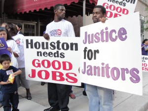 Janitors fight for justice (September 29, 2011)